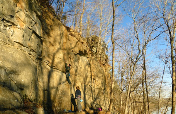 Kings Bluff Climbing