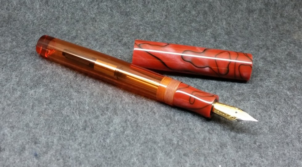 Orville - Copper Swirls - medium, standard