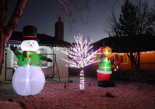 Christmas lights displays, Reno, Nevada, NV