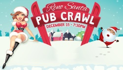Reno Santa Pub Crawl, Reno, Nevada, NV