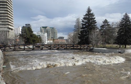 Truckee River, Reno, Nevada, NV