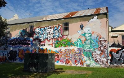 Camperdown Memorial Rest Park Mural