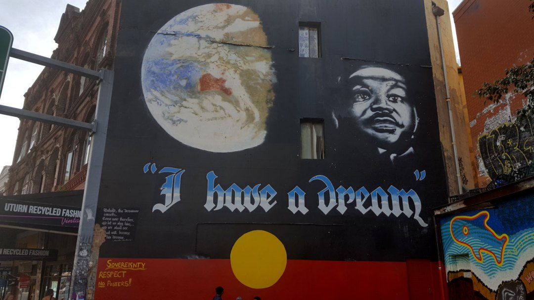 Martin Luther King Street Newtown