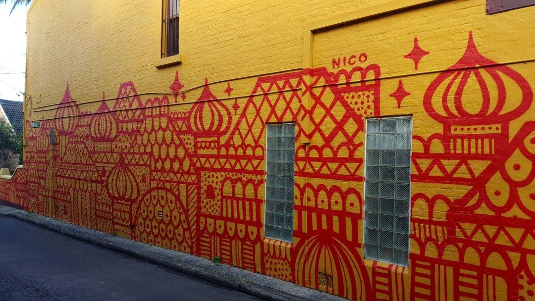 Nico Cross Lane Mural