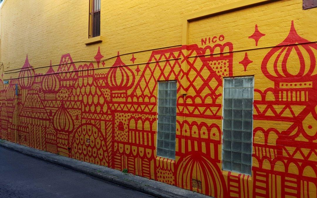 Untitled Mural – Nico