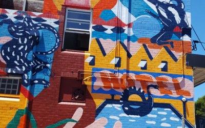 Sydney Park Hotel Mural