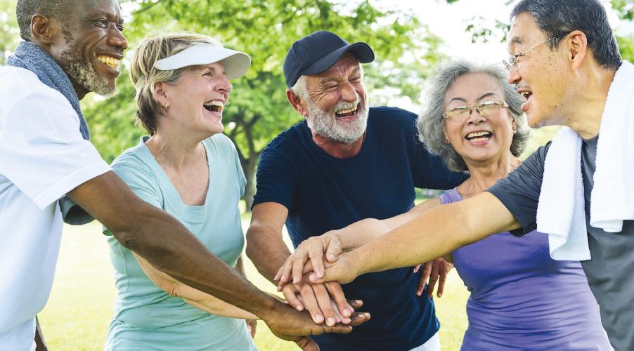 Happy Active Seniors