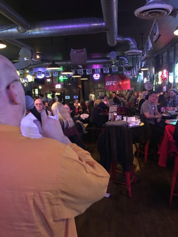 A Richard Jeffrey Newman's eye perspective of the community that came out to make sure Newtown Literary continues to print the best writing from our borough.