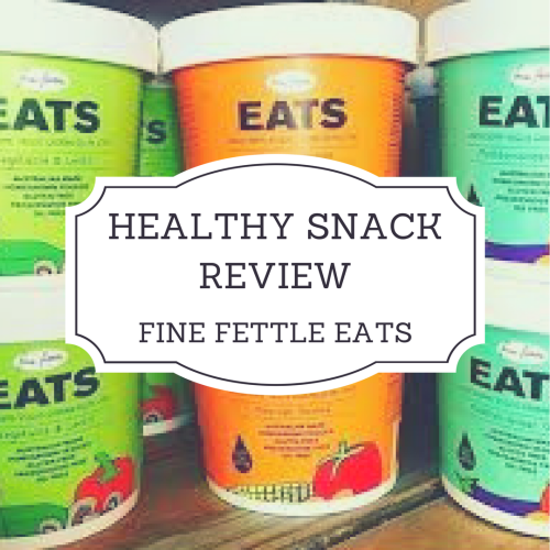 Fine Fettle Eats review | vegan snack review