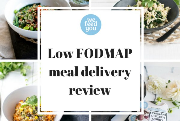 Low FODMAP meal delivery review. We Feed You