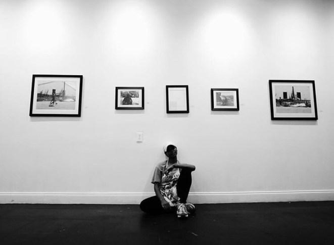 Artist Jade at Axiom Art Gallery by Visionary Barnes