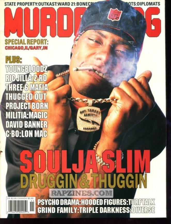 Soulja Slim Murder Dog Cover