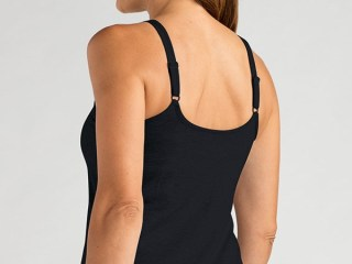VALLETTA TOP | Black | Back View