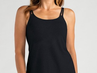 VALLETTA TOP | Black | Front View