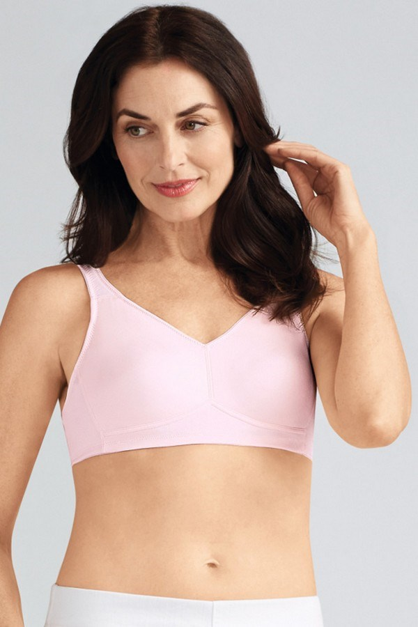 New U Pink Boutique - Lingerie - Marlena Soft Bra Blush Front - 113