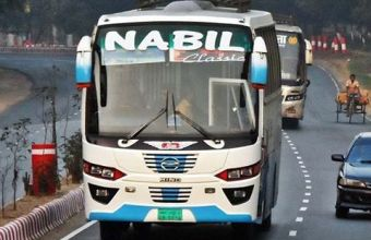 Nabil Paribahan All Counter Adders, Online Ticket Booking & Phone Number