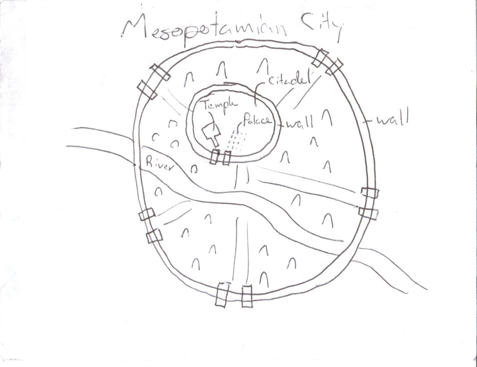 Sumerian City State Diagram Pictures To Pin