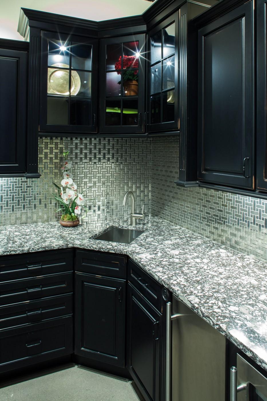 Marble and Granite Countertops Ma   Quartz Countertops ... on Backsplash:gjexfbx4_Ly= Black Granite Countertops  id=45546