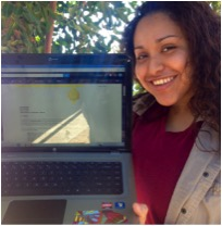 Valerie's acceptance email from Cal State Los Angeles