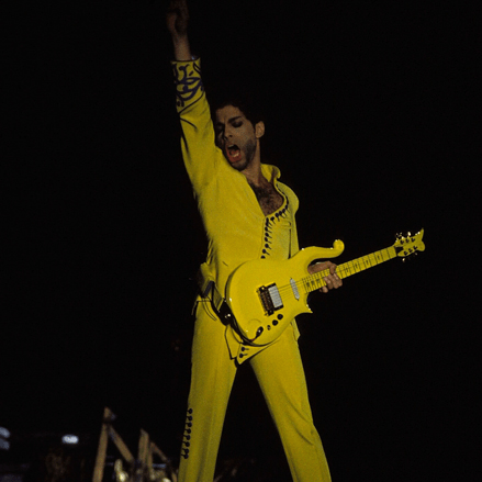 The Auction Of Prince's Yellow Cloud Guitar