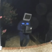 A TV-Masked Man Is Leaving These Strange Packages At Virginia Homes