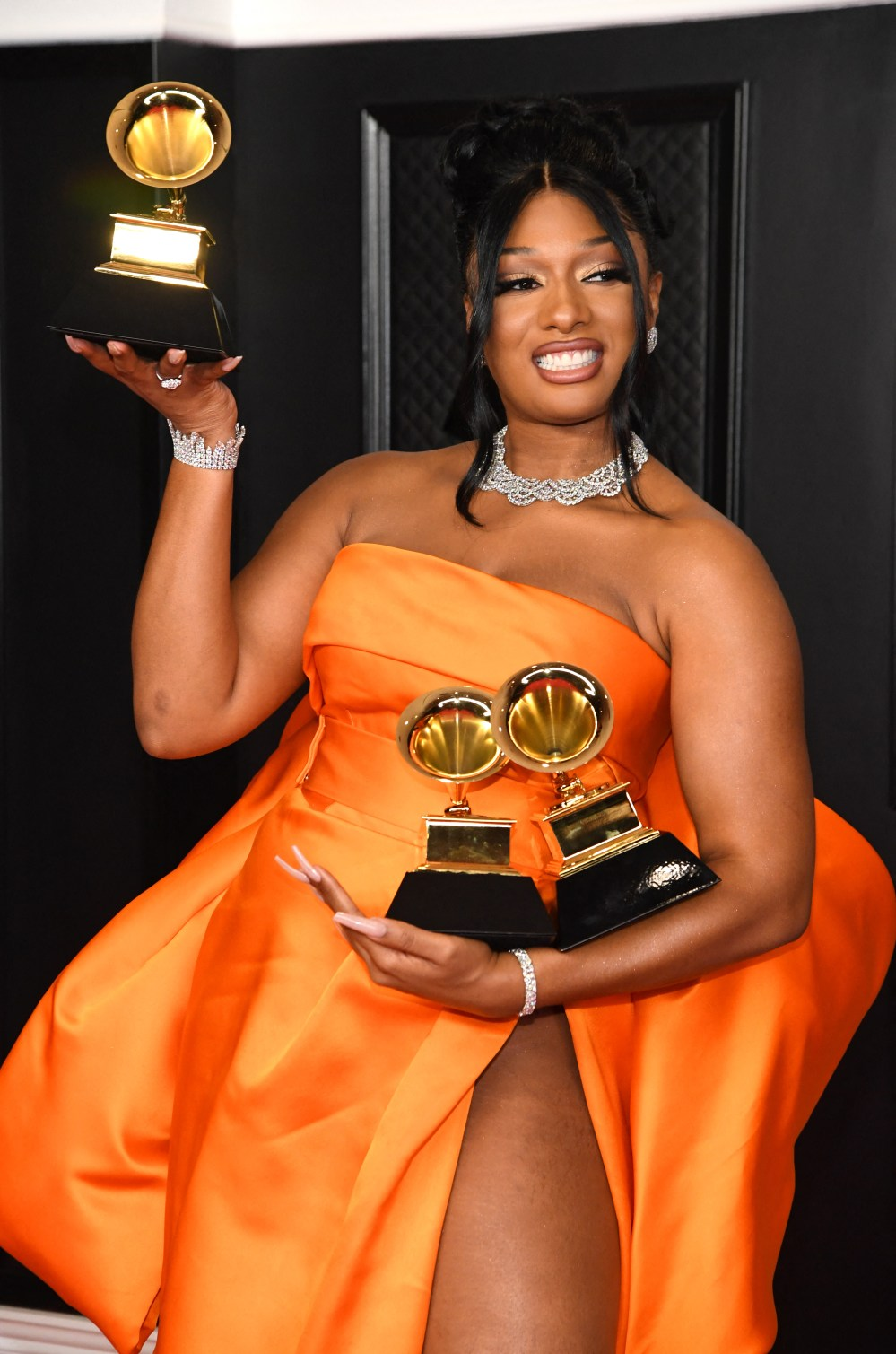 Megan Thee Stallion. PHOTOS BY AFP