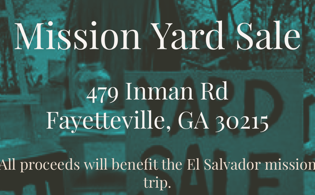 Mission Yard Sale