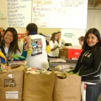 L.A. Food Bank Volunteers