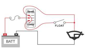 How to wire a bilge pump | ONOFF bilge switch | New Wire Marine