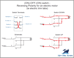 Rocker Switch Wiring Diagrams | New Wire Marine