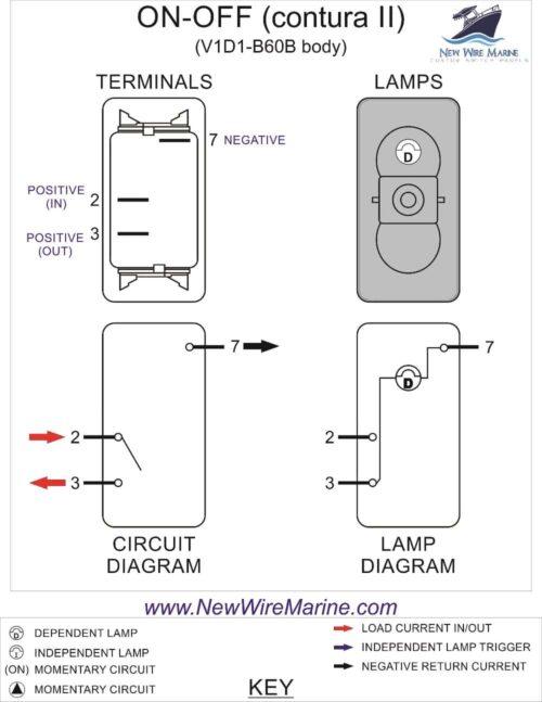 illuminated rocker switch wiring diagram wiring diagram wiring spst illuminated rocker switch ewiring