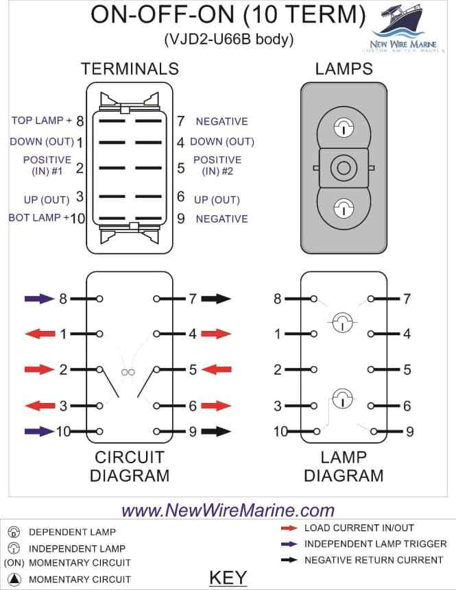 illuminated rocker switch wiring diagram wiring diagram lighted rocker switch wiring diagram