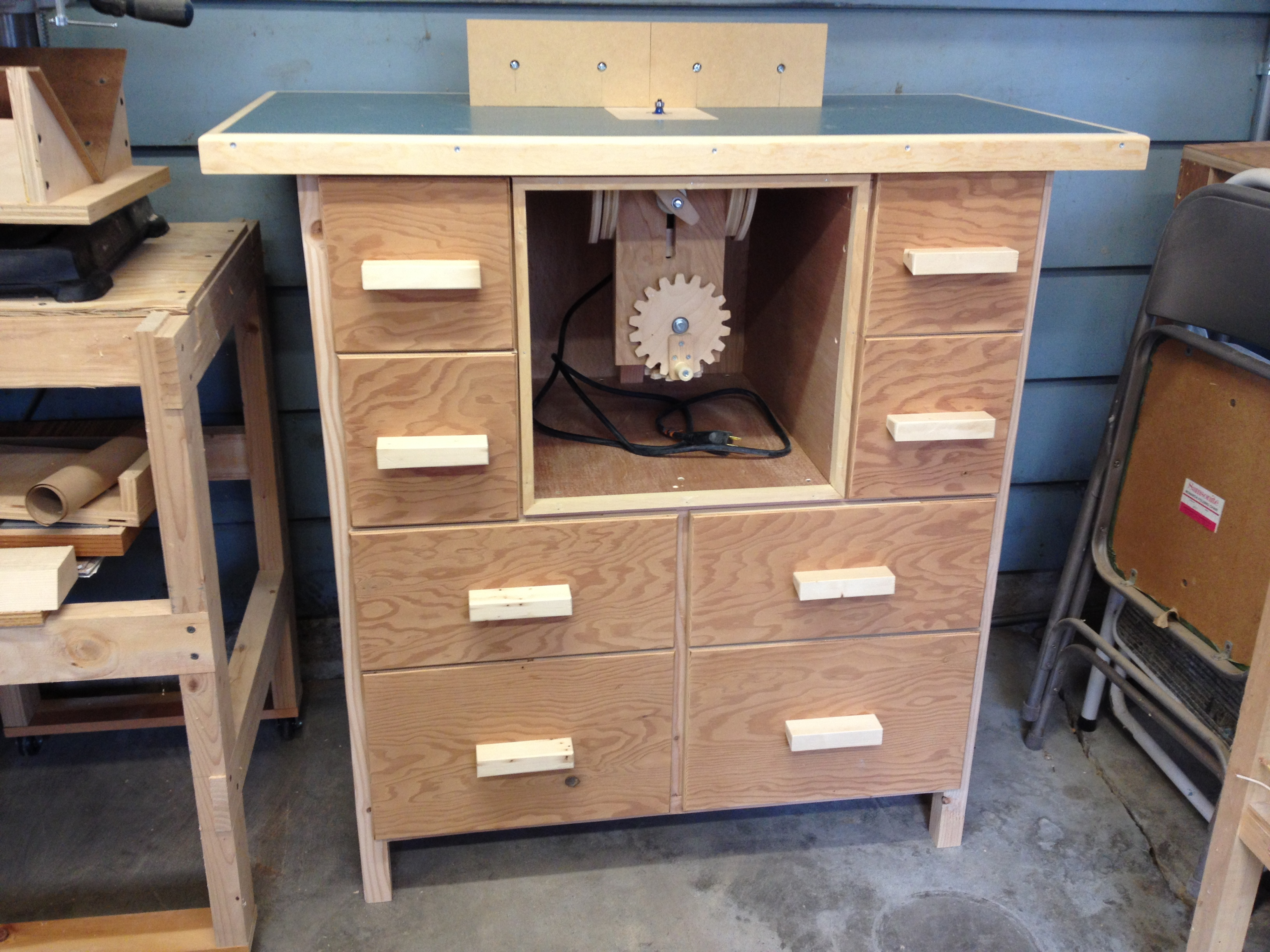 New Wood Shop - Setting up a new wood shop in my garage on Cool Small Woodworking Projects  id=34812