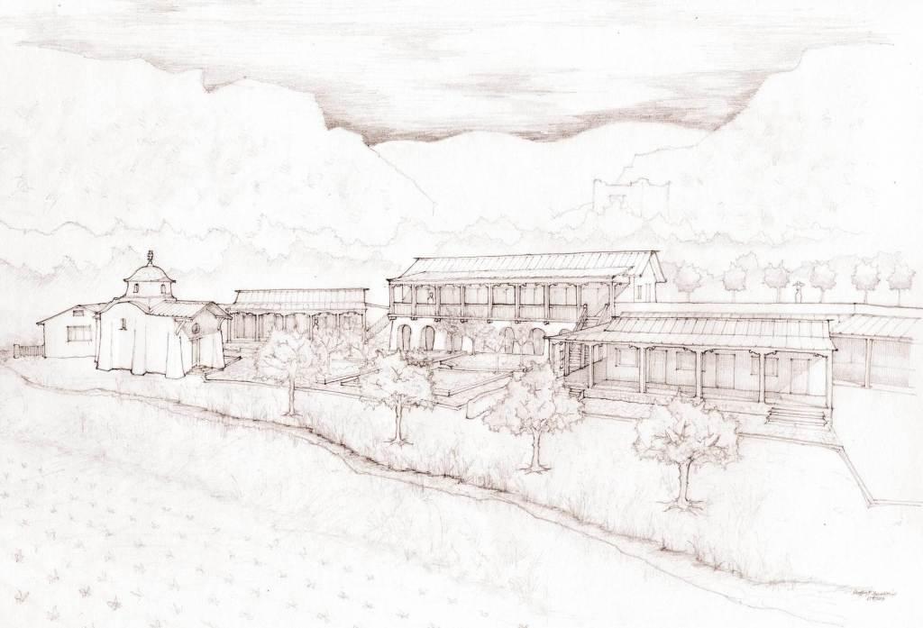 Saint Michael Monastery, Canones, NM