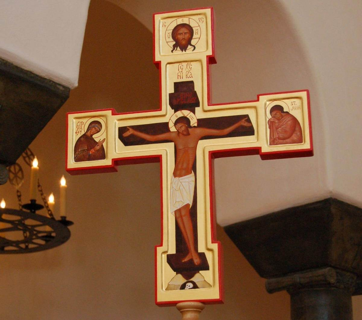 Processional Crosses and Icons