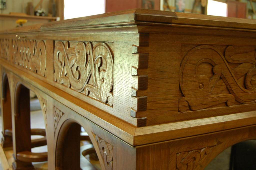 Romanesque Memorial Chest