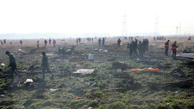 """""""Международные авиалинии Украины"""" приостановили рейсы в Тегеран"""