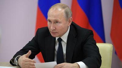 Путин в среду обратится с ежегодным посланием к Федеральному Собранию