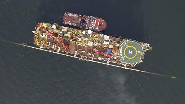 """Норвежское судно-инспектор заметили у """"Северного потока — 2"""""""