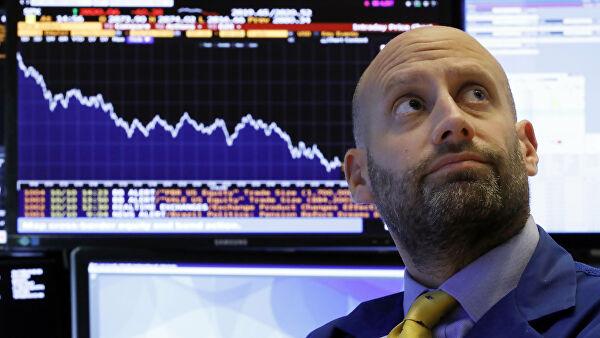 """Биржи США закрылись в """"красной зоне"""" из-за статистических данных"""