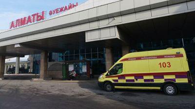 В Казахстане госпитализировали россиянина с коронавирусом