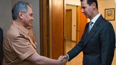 Шойгу встретился с Асадом в Сирии