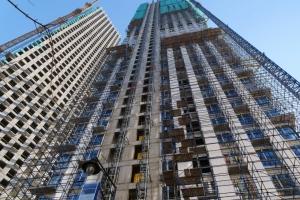 Завершается строительство жилого комплекса Wellton Towers