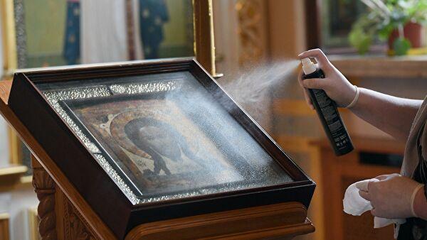 Священник РПЦ обвинил нарушителей карантина в антихристианской морали
