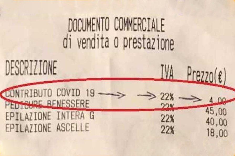 Итальянские предприниматели самостоятельно ввели COVID-налог