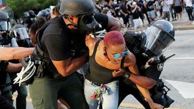 СМИ: в Атланте для разгона протестующих применили слезоточивый газ