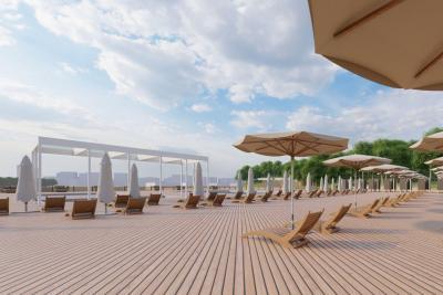 В Москве появится пляжная зона с бассейнами