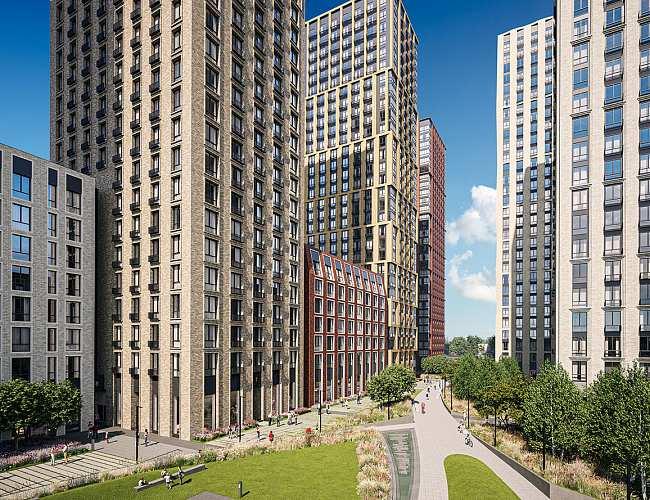 На второй очереди ЖК «Метрополия» бетонные работы осуществляются опережающими темпами