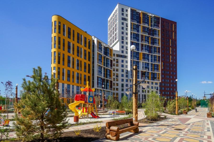 В ЖК «Новая звезда» введен в эксплуатацию жилой корпус на 368 квартир