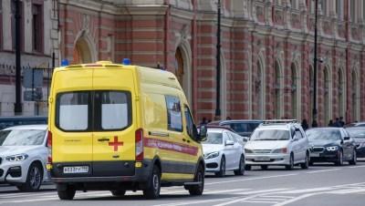 В Петроградском районе из окна гимназии выпал восьмиклассник